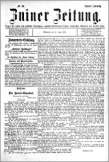 Zniner Zeitung 1896.06.24 R.9 nr 49