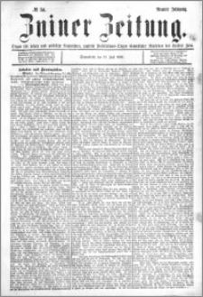 Zniner Zeitung 1896.07.11 R.9 nr 54