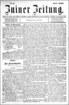 Zniner Zeitung 1896.07.18 R.9 nr 56