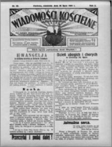 Wiadomości Kościelne : (gazeta kościelna) : dla parafij dekanatu chełmżyńskiego 1931, R. 3, nr 30