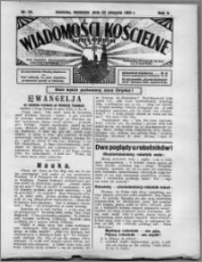 Wiadomości Kościelne : (gazeta kościelna) : dla parafij dekanatu chełmżyńskiego 1931, R. 3, nr 34
