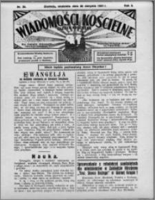 Wiadomości Kościelne : (gazeta kościelna) : dla parafij dekanatu chełmżyńskiego 1931, R. 3, nr 35