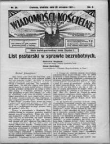 Wiadomości Kościelne : (gazeta kościelna) : dla parafij dekanatu chełmżyńskiego 1931, R. 3, nr 38