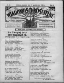 Wiadomości Kościelne : (gazeta kościelna) : dla parafij dekanatu chełmżyńskiego 1931, R. 3, nr 41