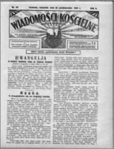 Wiadomości Kościelne : (gazeta kościelna) : dla parafij dekanatu chełmżyńskiego 1931, R. 3, nr 43