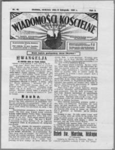 Wiadomości Kościelne : (gazeta kościelna) : dla parafij dekanatu chełmżyńskiego 1931, R. 3, nr 45