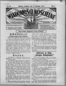 Wiadomości Kościelne : (gazeta kościelna) : dla parafij dekanatu chełmżyńskiego 1931, R. 3, nr 46