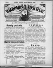 Wiadomości Kościelne : (gazeta kościelna) : dla parafij dekanatu chełmżyńskiego 1931, R. 3, nr 48