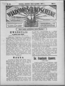 Wiadomości Kościelne : (gazeta kościelna) : dla parafij dekanatu chełmżyńskiego 1931, R. 3, nr 49