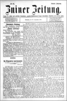 Zniner Zeitung 1896.09.23 R.9 nr 75
