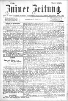 Zniner Zeitung 1896.10.31 R.9 nr 86