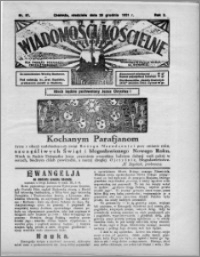 Wiadomości Kościelne : (gazeta kościelna) : dla parafij dekanatu chełmżyńskiego 1931, R. 3, nr 51