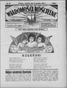 Wiadomości Kościelne : (gazeta kościelna) : dla parafij dekanatu chełmżyńskiego 1931, R. 3, nr 52