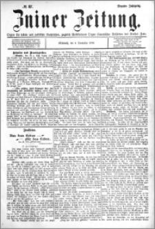 Zniner Zeitung 1896.11.04 R.9 nr 87
