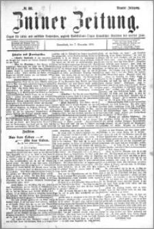 Zniner Zeitung 1896.11.07 R.9 nr 88
