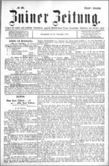 Zniner Zeitung 1896.11.14 R.9 nr 90