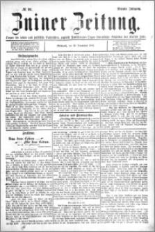 Zniner Zeitung 1896.11.18 R.9 nr 91
