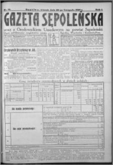 Gazeta Sępoleńska 1927, R. 1, nr 70