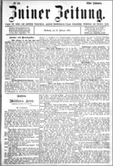 Zniner Zeitung 1898.02.16 R.11 nr 14