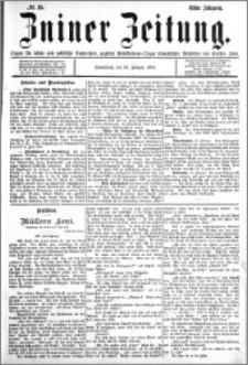 Zniner Zeitung 1898.02.19 R.11 nr 15