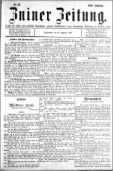 Zniner Zeitung 1898.02.26 R.11 nr 17