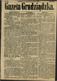 Gazeta Grudziądzka 1907.06.08 R.14 nr 69 + dodatek
