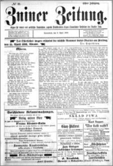 Zniner Zeitung 1898.04.09 R.11 nr 29