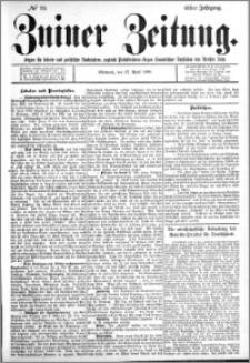 Zniner Zeitung 1898.04.27 R.11 nr 33