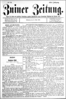 Zniner Zeitung 1898.05.18 R.11 nr 39