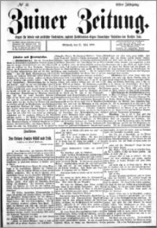Zniner Zeitung 1898.05.25 R.11 nr 41