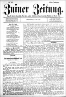 Zniner Zeitung 1898.06.15 R.11 nr 46