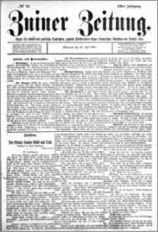 Zniner Zeitung 1898.07.20 R.11 nr 56