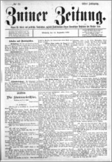 Zniner Zeitung 1898.09.14 R.11 nr 72