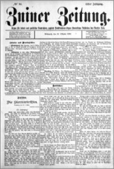 Zniner Zeitung 1898.10.12 R.11 nr 80