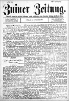 Zniner Zeitung 1898.11.02 R.11 nr 86