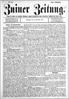 Zniner Zeitung 1898.11.12 R.11 nr 89