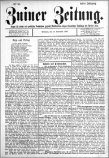 Zniner Zeitung 1898.11.16 R.11 nr 90