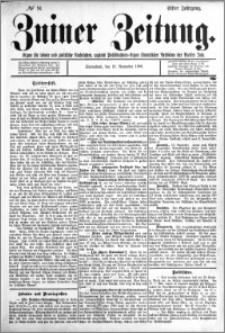 Zniner Zeitung 1898.11.19 R.11 nr 91