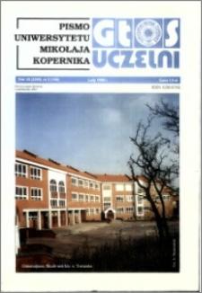 Głos Uczelni : pismo Uniwersytetu Mikołaja Kopernika R. 7=23 nr 2 (1998)