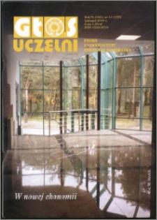 Głos Uczelni : pismo Uniwersytetu Mikołaja Kopernika R. 9=25 nr 11 (2000)