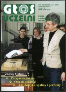 Głos Uczelni : pismo Uniwersytetu Mikołaja Kopernika R. 12=28 nr 4 (2003)
