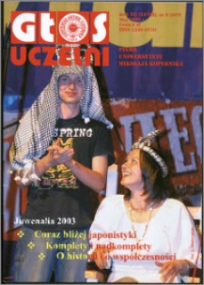 Głos Uczelni : pismo Uniwersytetu Mikołaja Kopernika R. 12=28 nr 5 (2003)