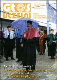 Głos Uczelni : pismo Uniwersytetu Mikołaja Kopernika R. 12=28 nr 6 (2003)