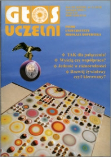 Głos Uczelni : pismo Uniwersytetu Mikołaja Kopernika R. 12=28 nr 11 (2003)