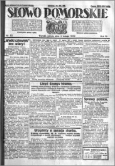 Słowo Pomorskie 1924.02.09 R.4 nr 33