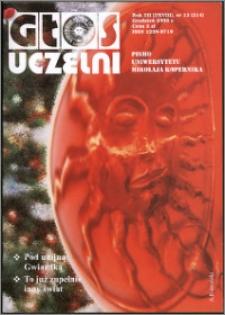 Głos Uczelni : pismo Uniwersytetu Mikołaja Kopernika R. 12=28 nr 12 (2003)