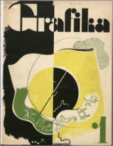 Grafika : organ Związku Polskich Artystów Grafików i Zrzeszenia Kierowników Zakładów Graficznych R. 3 z. 1 (1933)