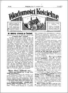 Wiadomości Kościelne : przy kościele w Podgórzu 1929-1930, R. 1, nr 42