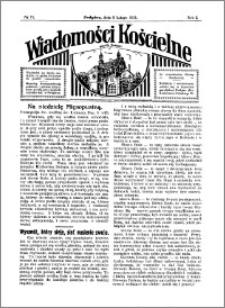 Wiadomości Kościelne : przy kościele w Podgórzu 1930-1931, R. 2, nr 11
