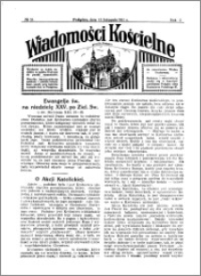 Wiadomości Kościelne : przy kościele w Podgórzu 1930-1931, R. 2, nr 51
